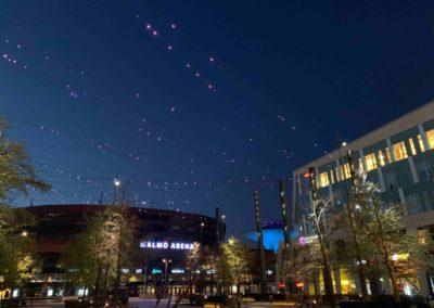 Malmo Arena Lights